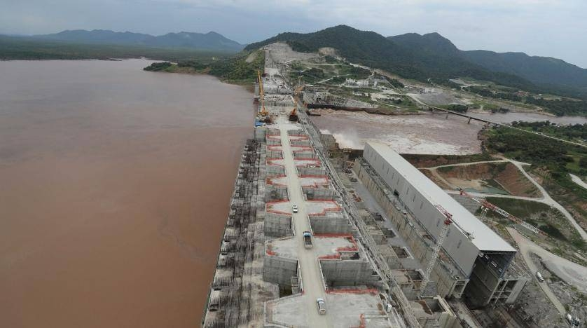 The Grand Ethiopian Renaissance Dam is seen as it undergoes construction work on the river Nile in Guba Woreda, Benishangul Gumuz Region, Ethiopia, in this Sept. 26, 2019 file picture. — Courtesy photo