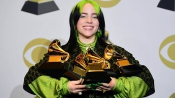 Teenage pop sensation Billie Eilish is set to perform at the 40th annual Brit Awards, which has been overshadowed by a gender diversity row. — AFP