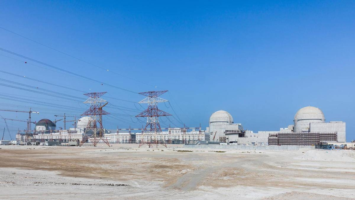 UAE's Barakah nuclear plant units Three and Four are now connected to the national electricity grid. — Courtesy photo
