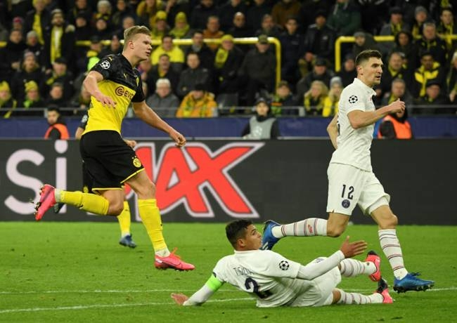 Teenager Erling Braut Haaland scored 29 goals in 27 appearances for former club Salzburg. — AFP