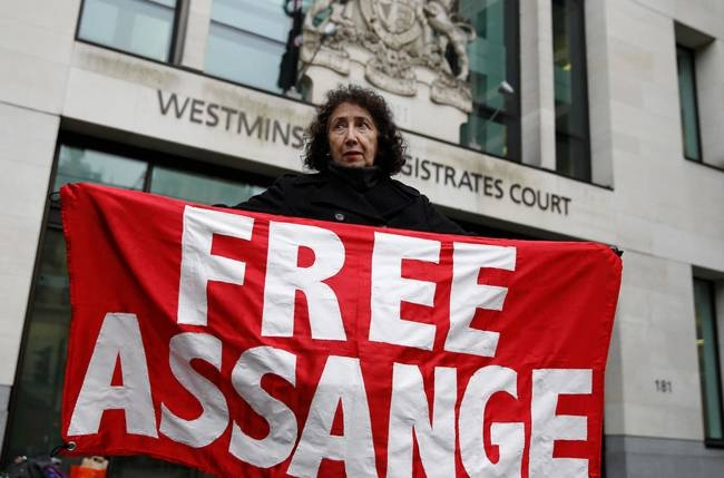 The revelation came at a case management hearing at Westminster Magistrates' Court before the formal start of Washington's extradition request for him to face espionage charges. — AFP
