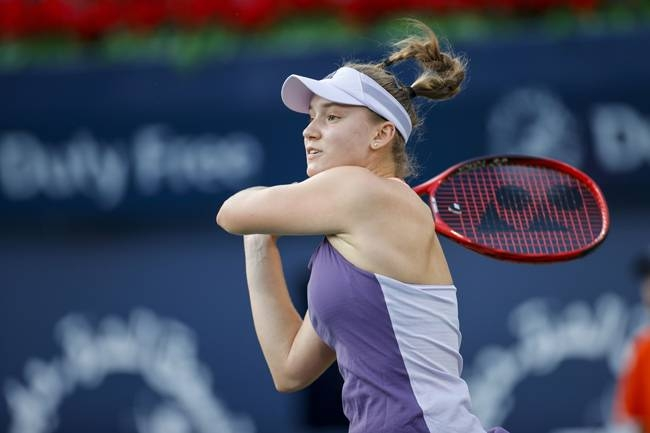 Elena Rybakina defeated Petra Martic in the semifinal of the Dubai Championships to set up a showdown with Simona Halep in the final.