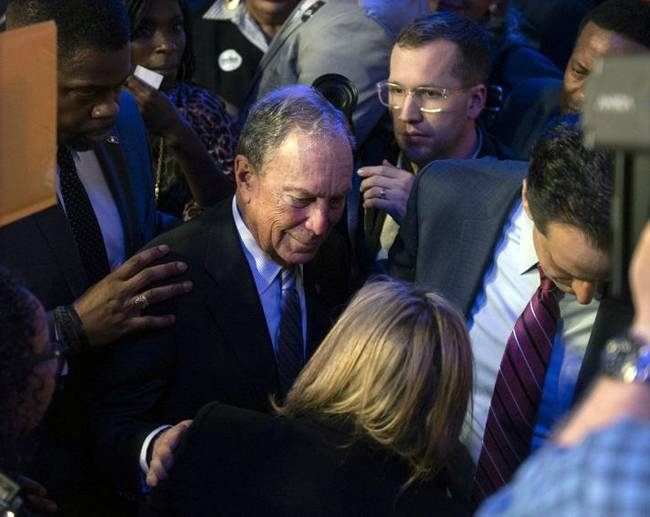 Presidential hopeful Michael Bloomberg, the multi-billionaire former mayor of New York, has shattered the record for campaign advertising, spending a staggering $364.3 million and counting, an ad tracker said Friday.