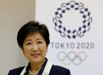 Tokyo governor Yuriko Koike hit back on Friday at a candidate to be London mayor who offered to host this year's Olympics due to the coronavirus epidemic affecting Japan. — Reuters 2016 file photo