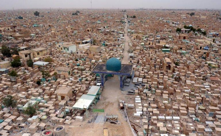 Wadi Al-Salam (Valley of Peace) cemetery in the Shiite holy city of Najaf in Iraq. — Courtesy photo