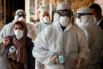 A jump in coronavirus cases in Iran is a cause for concern because they have no direct link to China, the World Health Organization said. — Courtesy photo