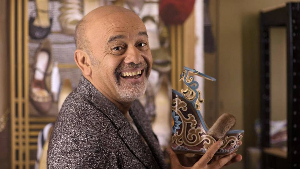 French shoe designer Christian Louboutin insists that wearing his towering six-inch stilettos is a 'form of liberty'. — AFP
