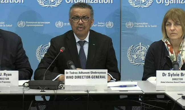 World Health Organization chief Tedros Adhanom Ghebreyesus on Monday warned countries to prepare for a