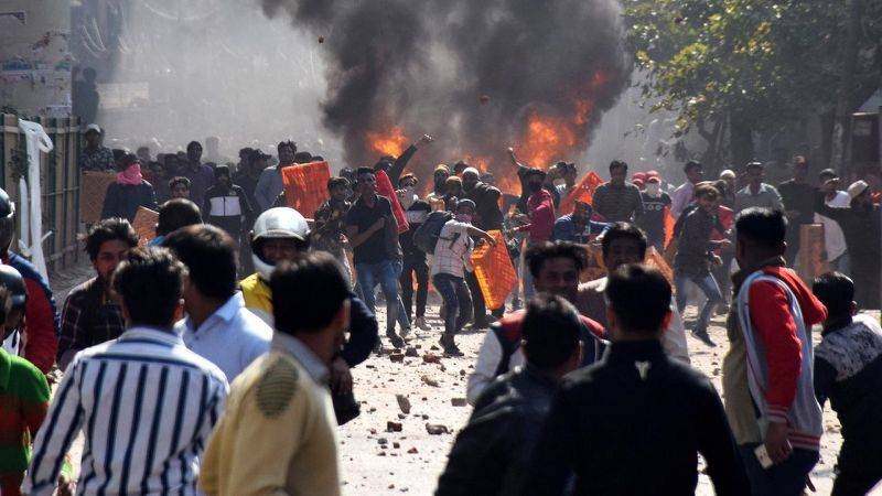 The violence in New Delhi on Monday just as Trump arrived began as a standoff between supporters and opponents of a new citizenship law but degenerated into running battles between Hindus and Muslims, local media reported. — Courtesy photo