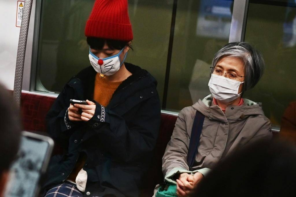 The Japanese health minister has urged people to avoid crowds and unnecessary gatherings. — AFP