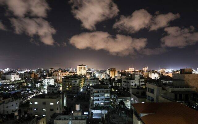 A picture taken on Tuesday shows a general view of Gaza city. — Courtesy photo