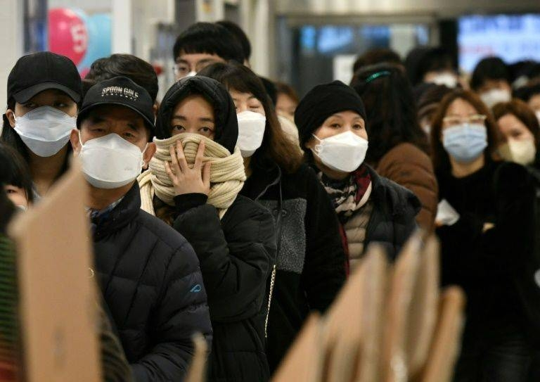 While the World Health Organization said the outbreak had 'peaked' in China, it warned about a possible pandemic. — AFP