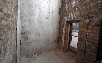 Interior of a secret chamber concealing a 360-year-old passageway was rediscovered in UK Parliament. — Courtesy photo