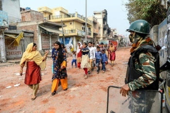 The unrest is the latest bout of violence over Prime Minister Narendra Modi's citizenship law. — AFP