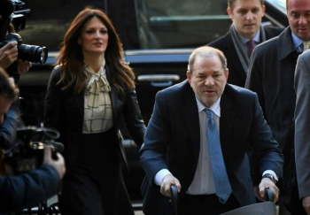 Harvey Weinstein was convicted of rape and sexual assault by a New York jury. — AFP