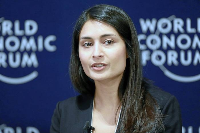 Saadia Zahidi, managing director, World Economic Forum, in this file photo.