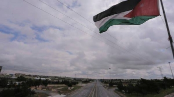 The streets of the Jordanian Capital are seen empty at the start of a nationwide curfew. -- Courtesy photo