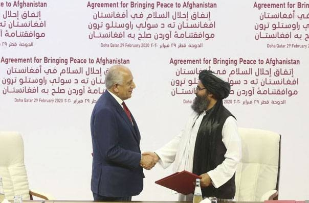 The peace deal signed in Doha on Feb. 29 outlined a series of commitments from the US and the Taliban related to troop levels, counterterrorism, and the intra-Afghan dialogue.