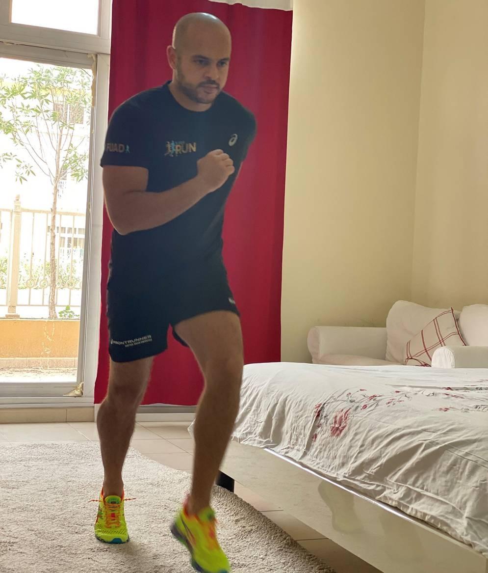 Marathon at Home course