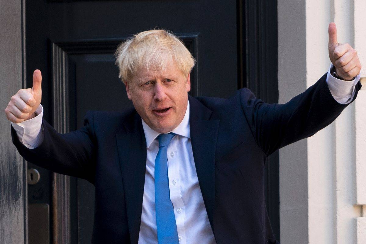 British Prime Minister Boris Johnson is seen in this file picture. — Courtesy photo