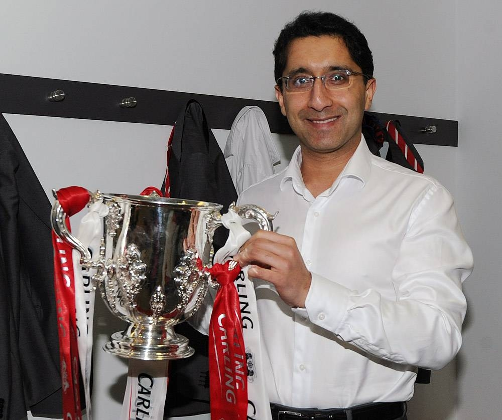 Dr. Zafar Iqbal, consultant in sports and exercise medicine and head of sports medicine at English Premier League club Crystal Palace FC, in this file photo.