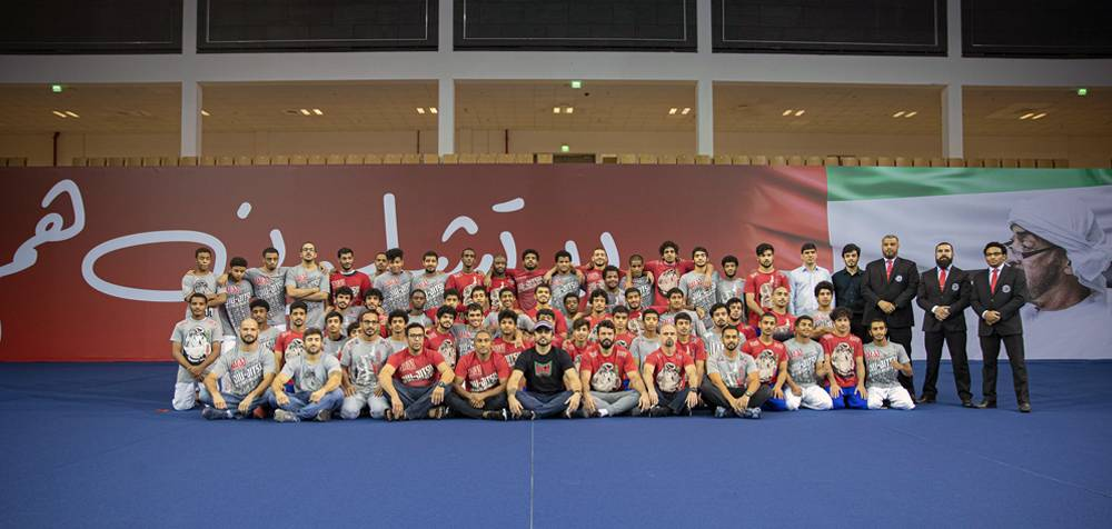 Tournament saw 50 top Emirati fighters in action at Abu Dhabi's Jiu-Jitsu Arena