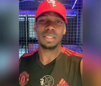 Paul Pogba has sent Eid greetings to his friends in Dubai and around the world through Dubai Sports Council.
