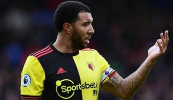 Watford captain Troy Deeney in this file photo.