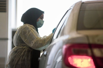 The 3rd phase will not cover indoor checkup or house visits, as it will be done through various outlets including, checkup inside cars via dedicated centers set up in many cities. — SPA