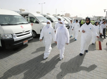 Bahrain on Friday reported 300 new coronavirus cases, 183 of which were detected among expatriate workers, and 117 were found to have contracted the infection from the previously infected people. — Courtesy photo