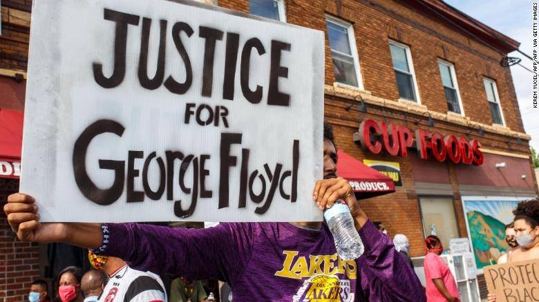 A police officer, Derek's arrest came after a third night of arson, looting and vandalism gripped the city as protesters vented rage over Floyd's death. — Courtesy photo