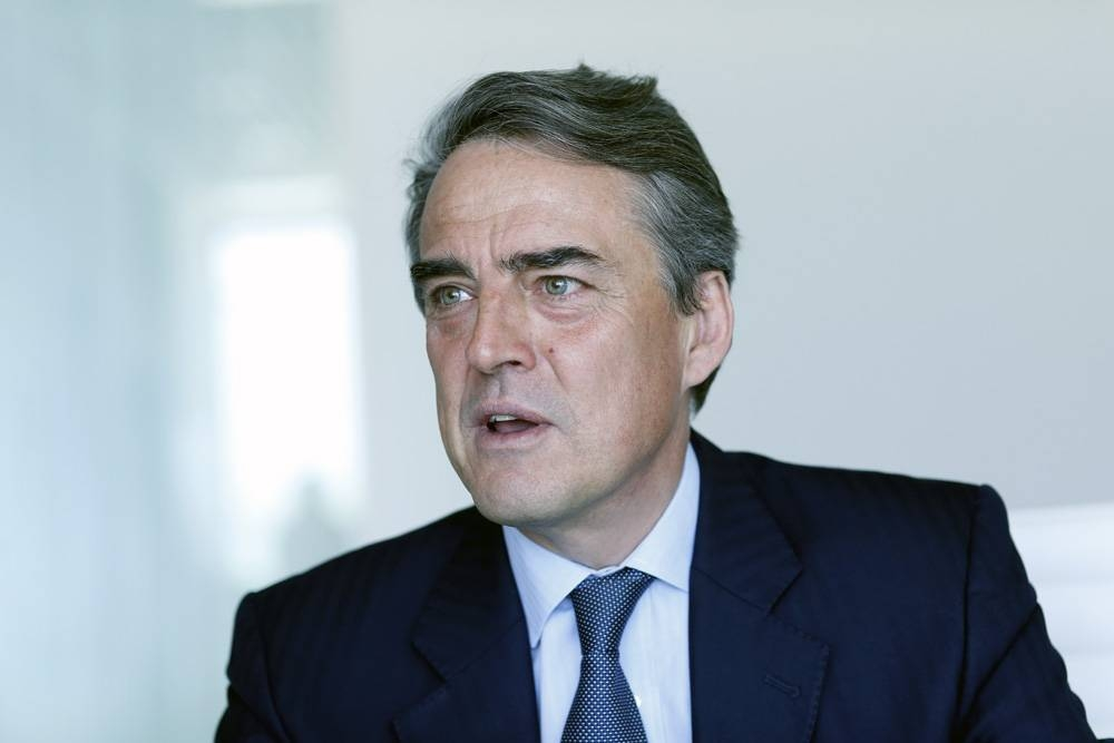 Alexandre de Juniac, IATA's director general and CEO.