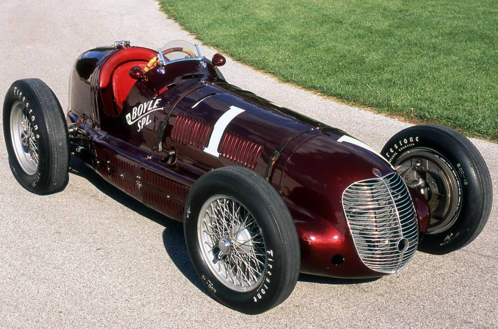 Maserati 8CTF Indianapolis winner C John Lamm.
