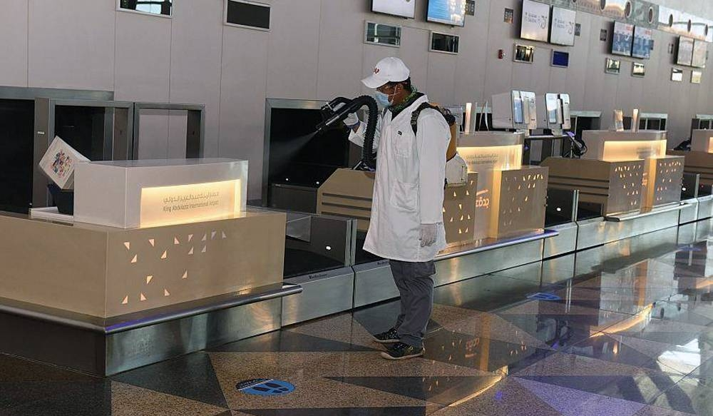 Precautionary measures are being implemented at the King Abdulaziz International Airport, which is receiving a host of repatriation flights.