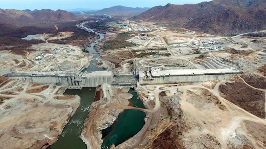 File photo of the Grand Ethiopian Renaissance Dam (GERD).