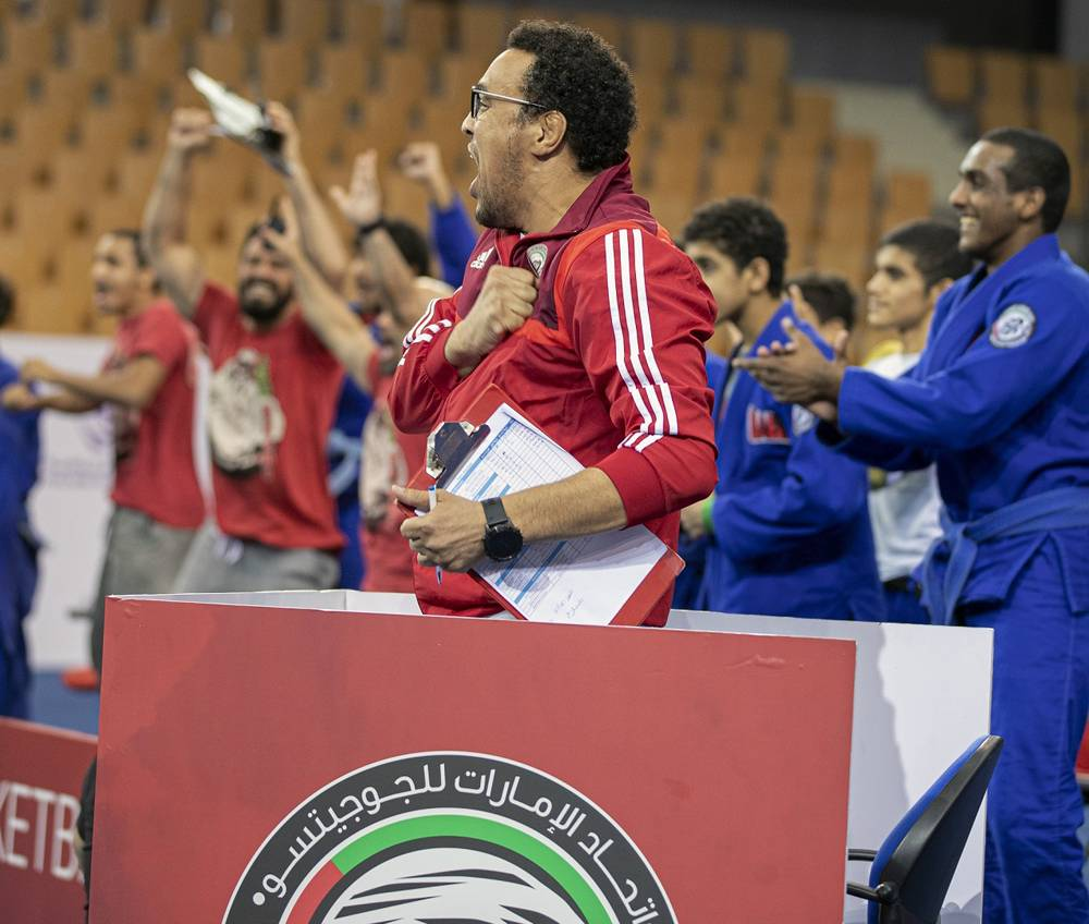 Faisal Al Ketbi believes mental conditioning is a key asset in a jiu-jitsu fighters' armory.