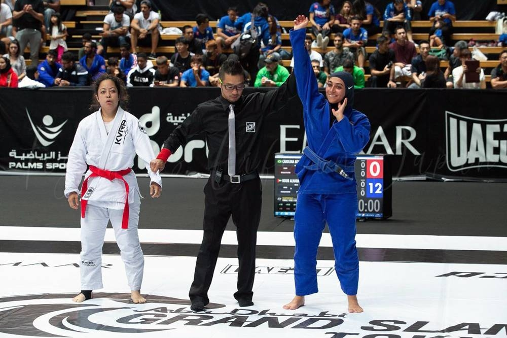 Noor Al Harmoodi -  2019 Abu Dhabi World Professional Jiu-Jitsu Championship silver medalist in the 70 kg category.
