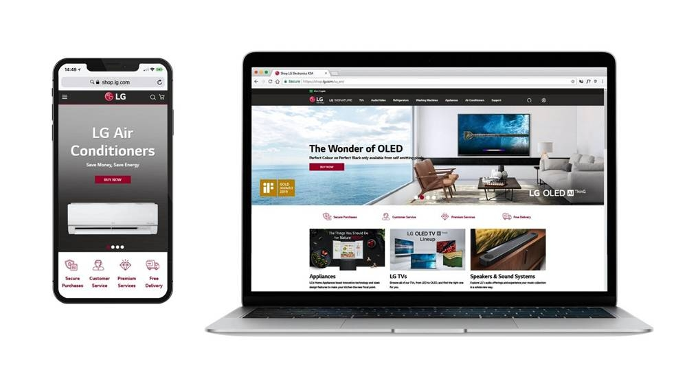LG launches online store allowing KSA customers to shop remotely