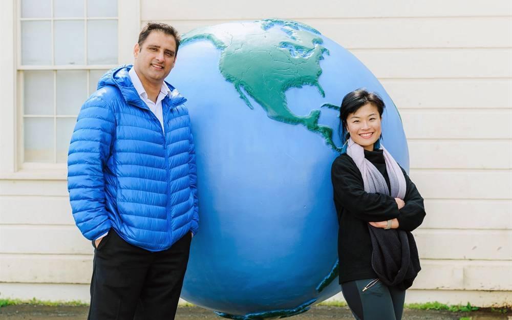 TurtleTree Founders Fengru Lyn and Max Rye