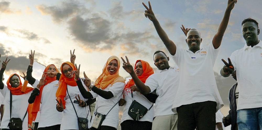 A High-Level Sudan Partnership Conference in Berlin acknowledged young people, especially women and girls, as drivers of change for a democratic, free and peaceful country. — courtesy UNAMID/Amin Ismail