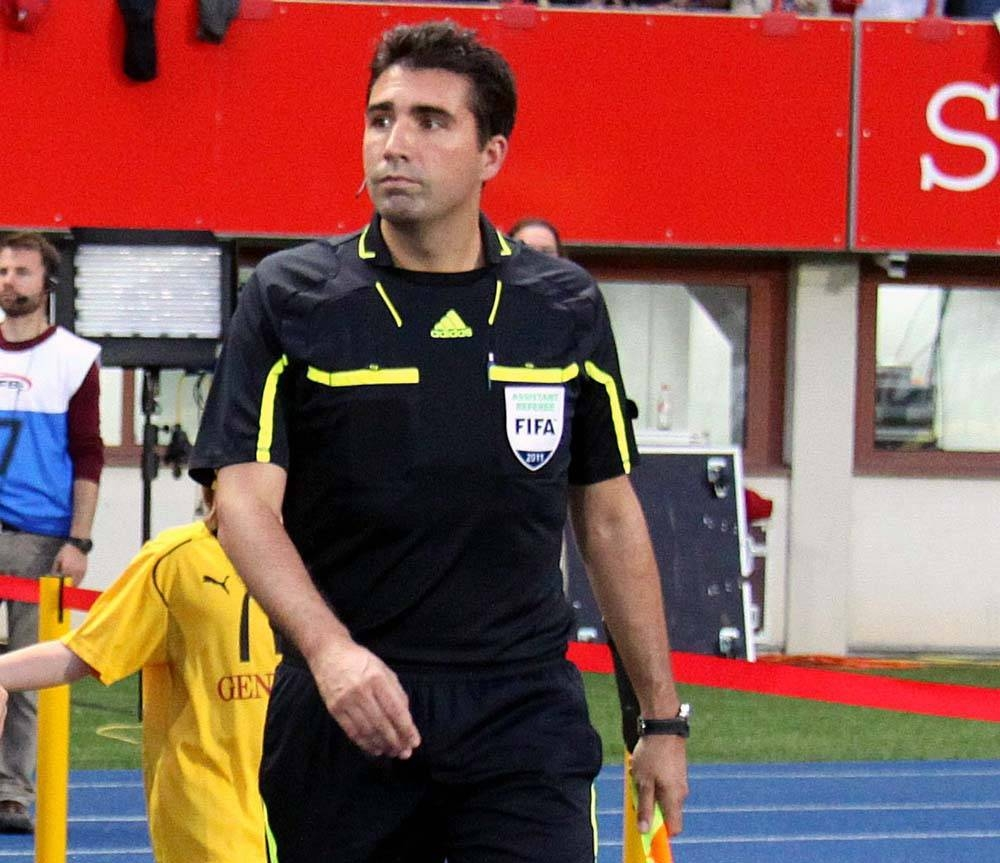 Swiss Referee Manuel Navarro