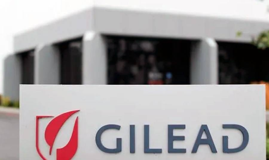 File photo of Giliead pharmaceuticals.