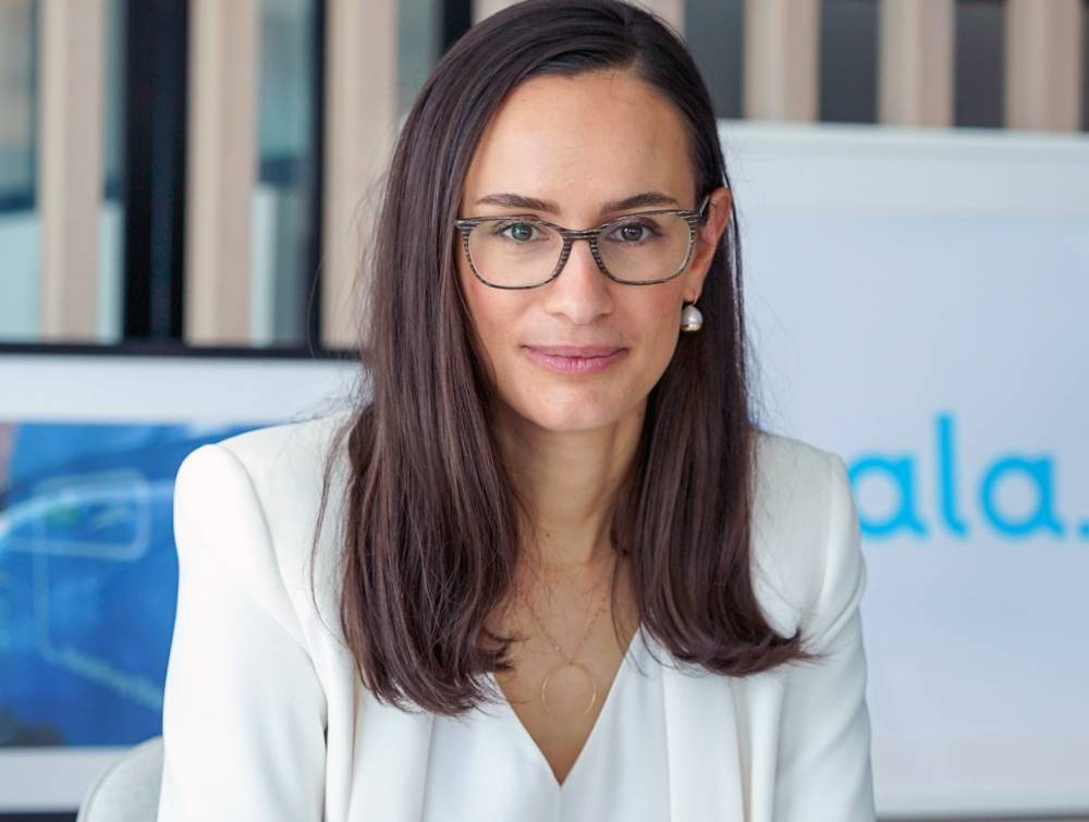 Clemence Dutertre, CEO of Hala.
