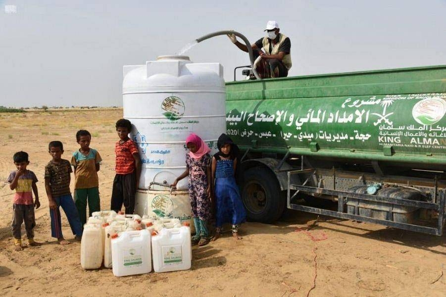 HThe project comes within the framework of humanitarian efforts being provided by Saudi Arabia, represented by KSrelief, for the Yemeni people to improve their living conditions during the current humanitarian crisis.