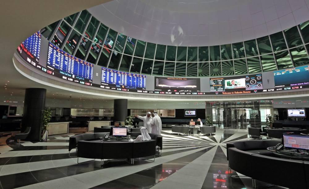 File photo of trading Bahrain Bourse.