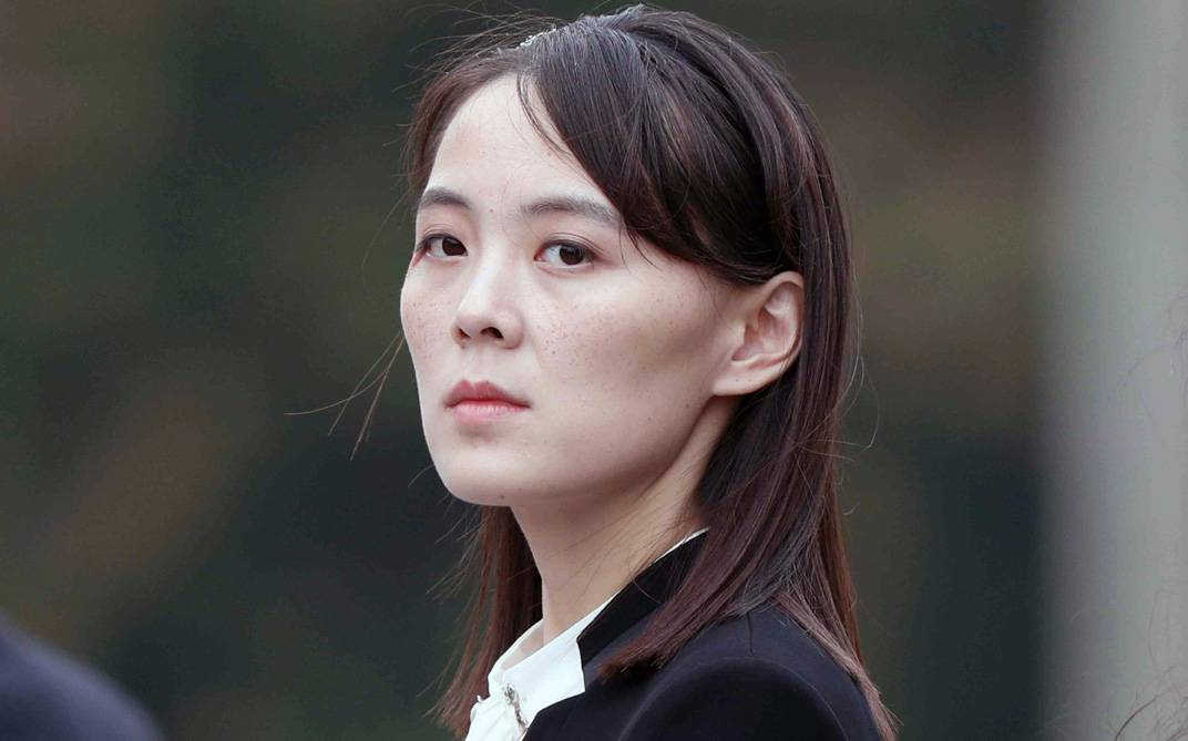 Kim Yo Jong, sister of North Korea's leader Kim Jong Un, seen in this file photo.