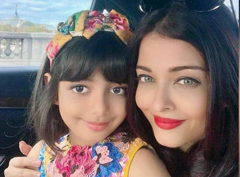 Aishwarya Rai Bachchan, right, and daughter Aaradhya Bachchan in this file photo. — courtesy Instagram.