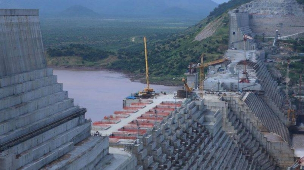 A general view of the Blue Nile river as it passes through the Grand Ethiopian Renaissance Dam (GERD), near Guba in Ethiopia. — Courtesy photo