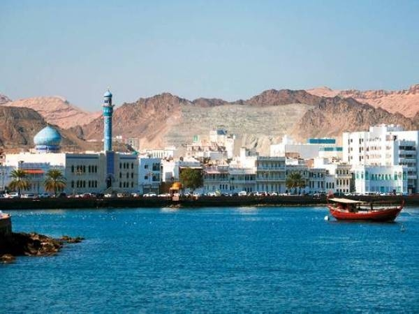 A view of a port in Muscat. — File photo