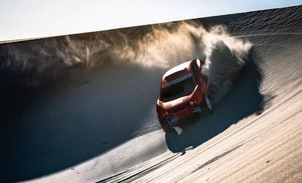 BRX has designed and built a bespoke Dakar Rally T1 car.